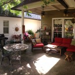 We loved this patio - we watched football games, sat around fires, grilled, and ate many meals out here!