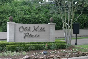 When I see this sign off of Highland Road, I know I'm almost home!