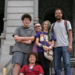 All at the 5280ft marker on the capitol steps