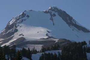 So close to the top of Mt Hood.