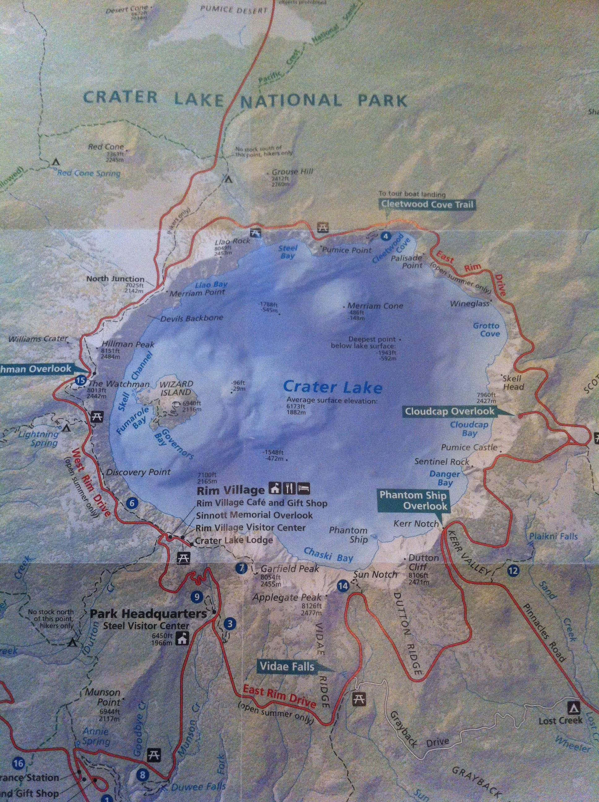 Crater Lake Two days in the clouds Francois5