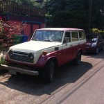 Old Land Cruiser.  Late '60s - late '70s