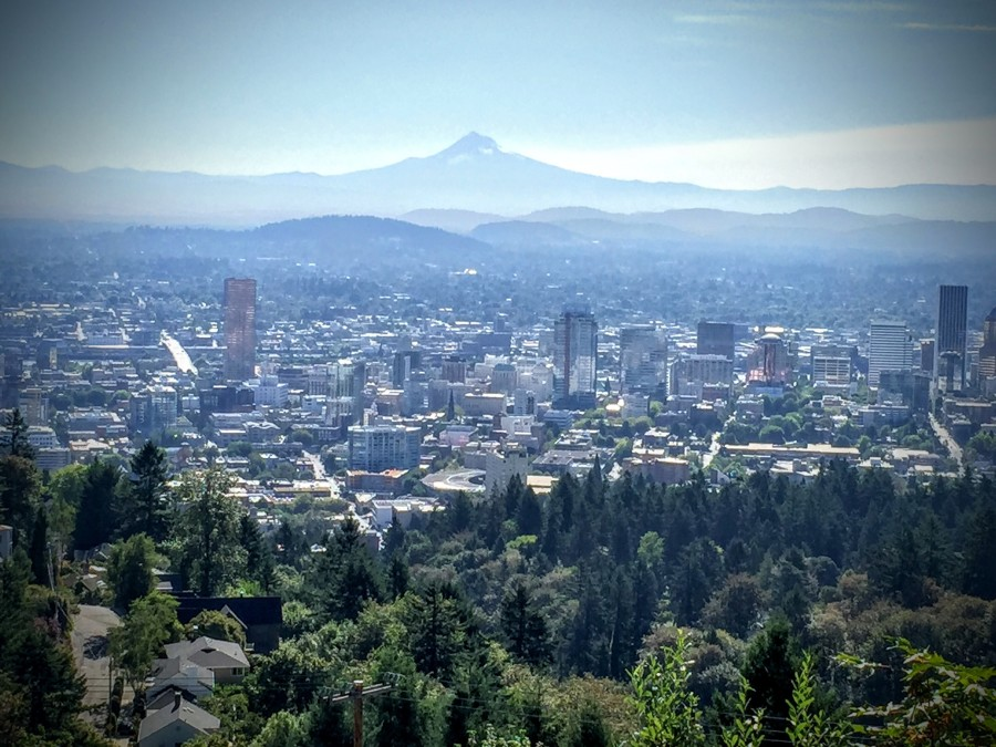 Forest Park, Portland, Or, Pittock Mansion